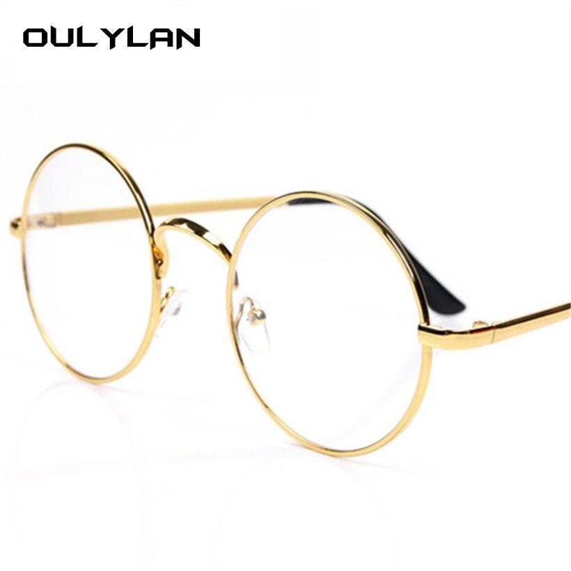 Hot Sale Oulylan Vintage Round Glasses Frame for Harry Potter ...