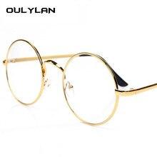 Oulylan Rodada Do Vintage Óculos de Armação para Harry Potter Óculos de Armações de óculos Mulheres Homens Óptica Clara Transparente