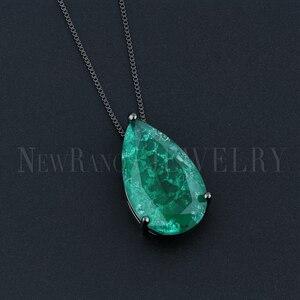 Image 4 - Newranos gota de água pingente colar natural caiu pedra colar de jóias para as mulheres moda jóias nfx001724