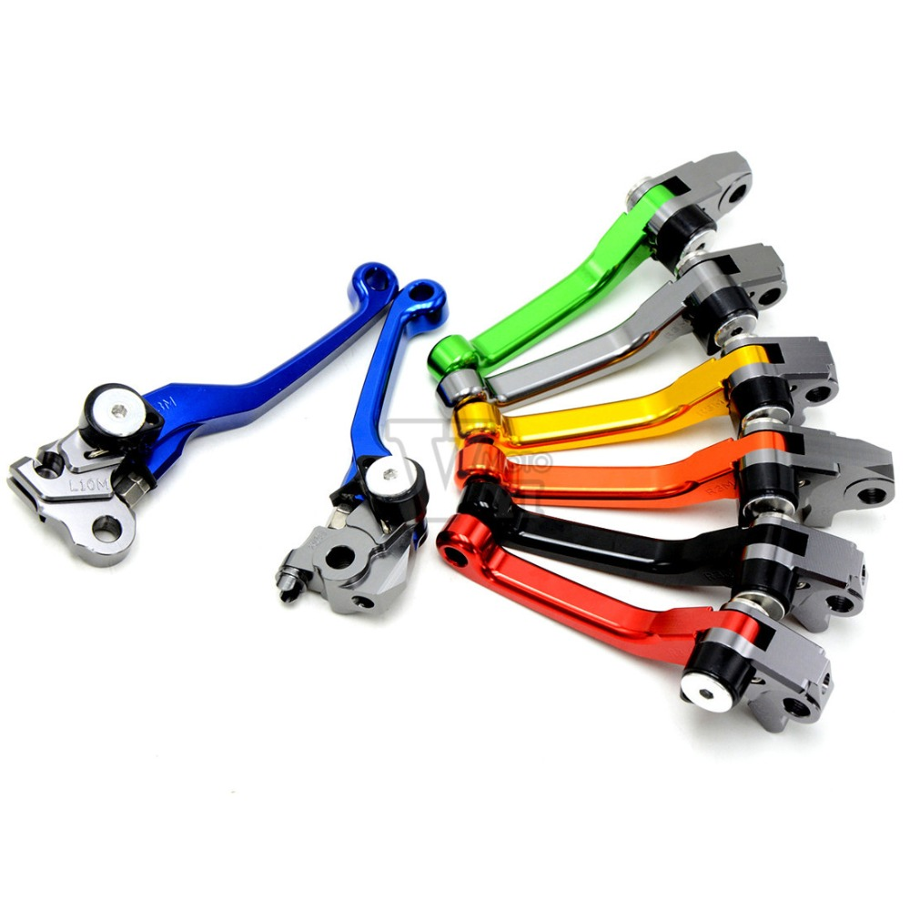 2016 New CNC Pivot Clutch Brake Lever For Yamaha YZ125 YZ250 YZ250F YZ426F YZ450F YZ 125 250 YZ 250F 426F 450F Street Bike cnc pivot brake clutch lever for kawasaki kx65 kx85 kx125 kx250 kx250f new