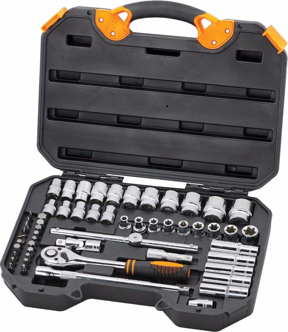 Tool set Kraton TS-16 1/2 56 pr. a set of tools kraton ts 05 1 2 1 4 55 pr