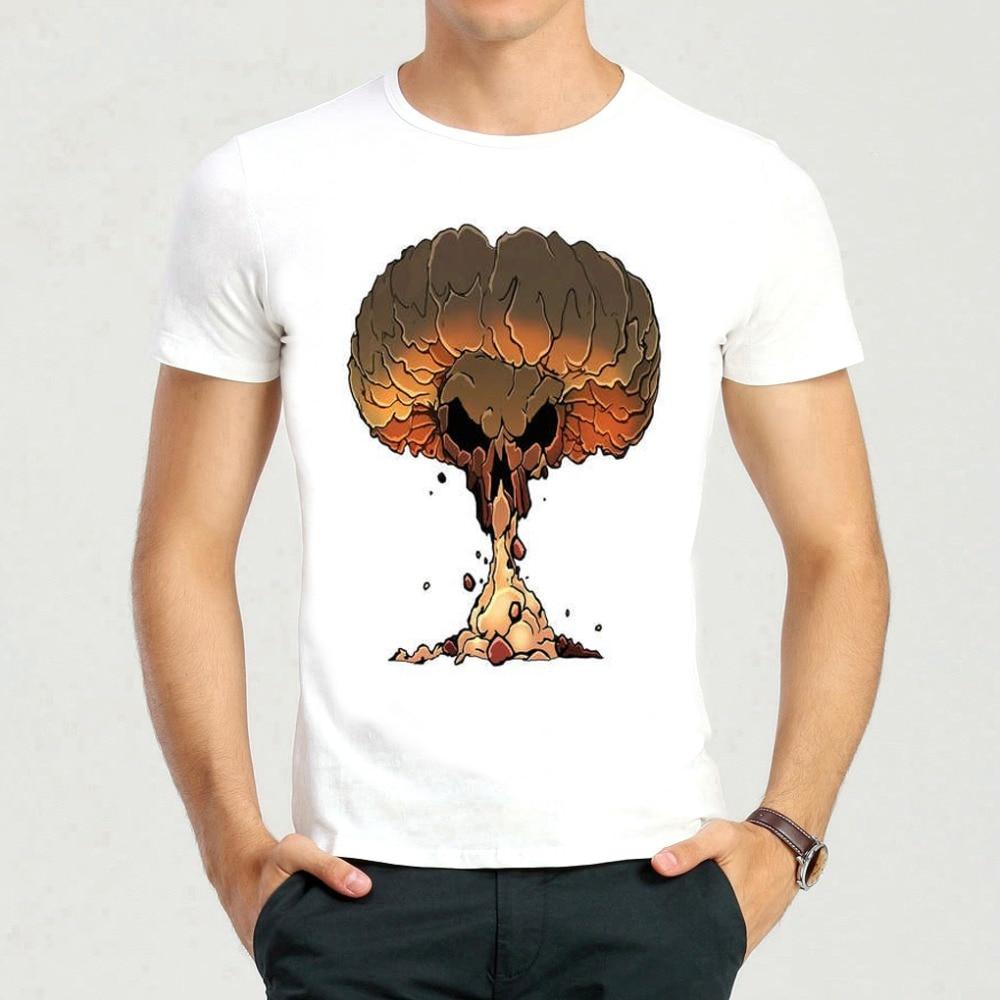 d7065f43462 Corta Seta Nube A31 De Camiseta Hongo Explosión Blanco Cráneo n4qYxSCHR