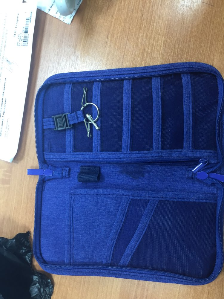 HMUNII NewTravel Paspoort Cover Portemonnee Reizen Multifunctioneel Creditcardpakket, ID-houder Organizer Clutch, geldzak photo review