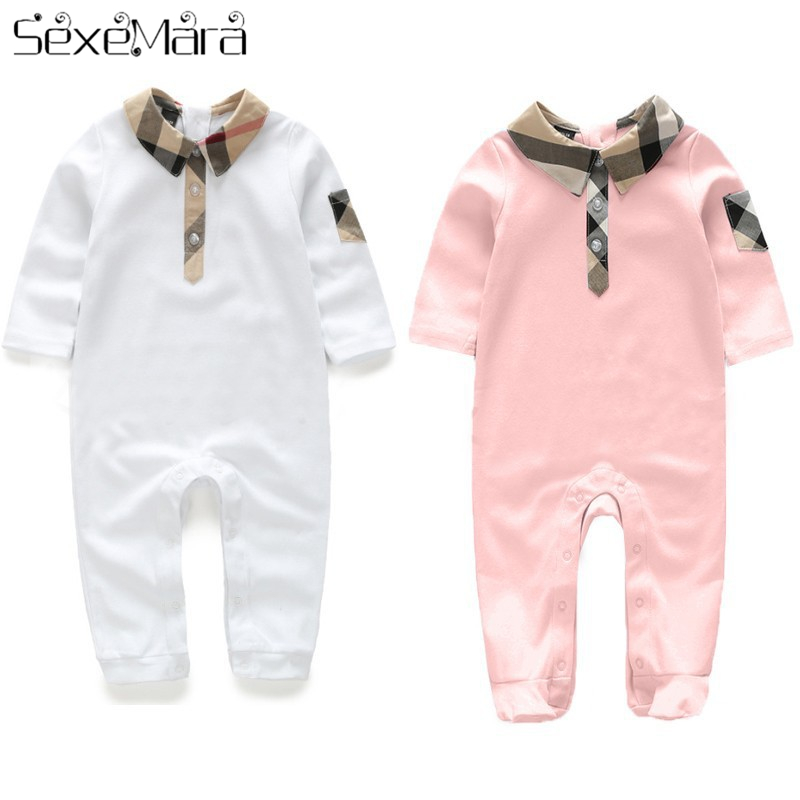Summer style Infant cartoon baby   Romper   climbing clothes baby girl boys clothing comfortable pure cotton baby clothes 1pcs
