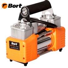 Компрессор автомобильный BORT BLK-700x2 (давление 10 бар, производительность 70 л/мин)