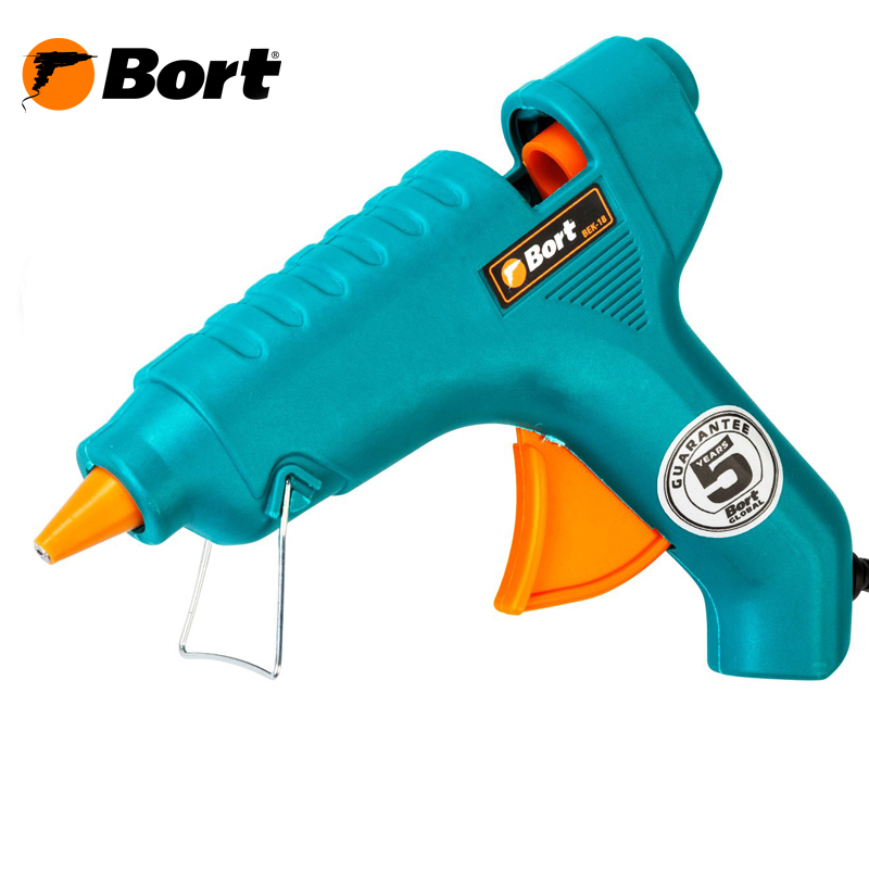 Glue gun BORT BEK-18 super pdr small dent repair removal tools green dent lifter puller tabs glue gun glue sticks for car tool kit to remove dents