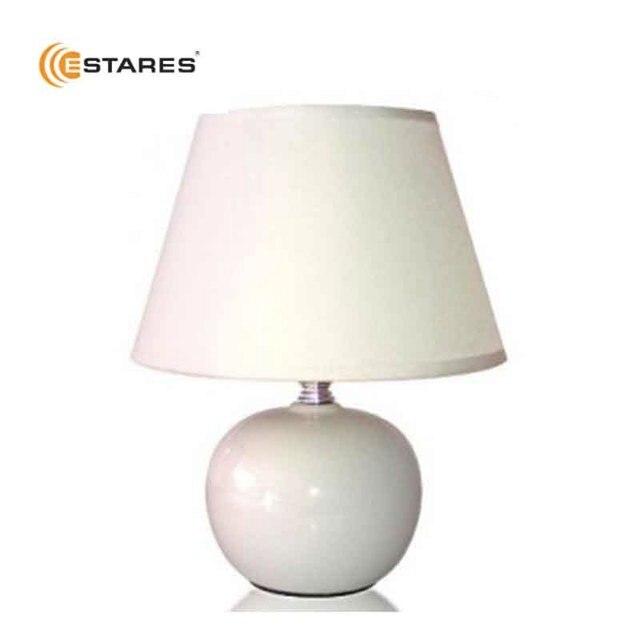 Светильник настольный Estares AT09360 (белый, кофейный, межевый)