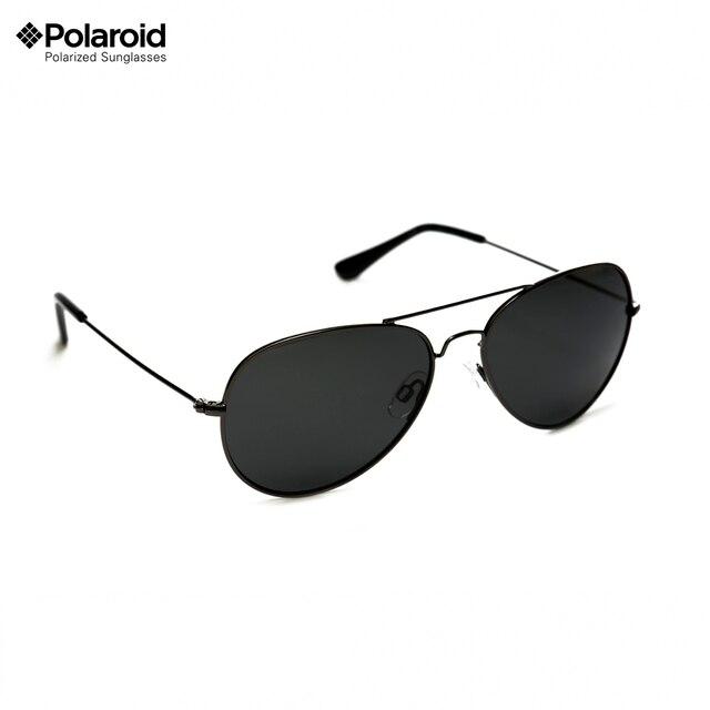 Polaroid Мужские солнцезащитные очки полароид металлическая оправа