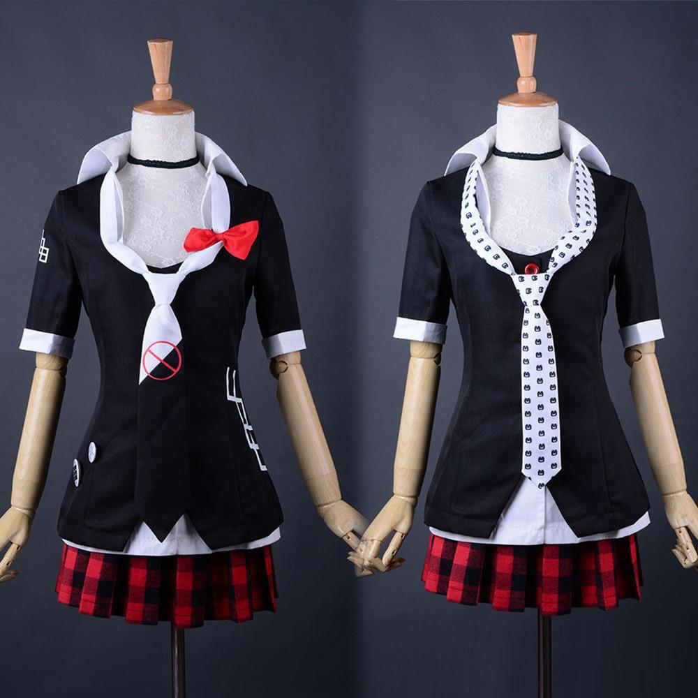 Hot Game Danganronpa Costume Junko Enoshima Emboitement Inushio Kimuchi Trigger Happy Havoc Cosplay Costume Uniform Outfit