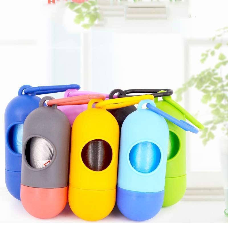 Dog Poo Poop Bag Dispenser Garbage Bags font b Pet b font Waste Holder Dispenser Bags
