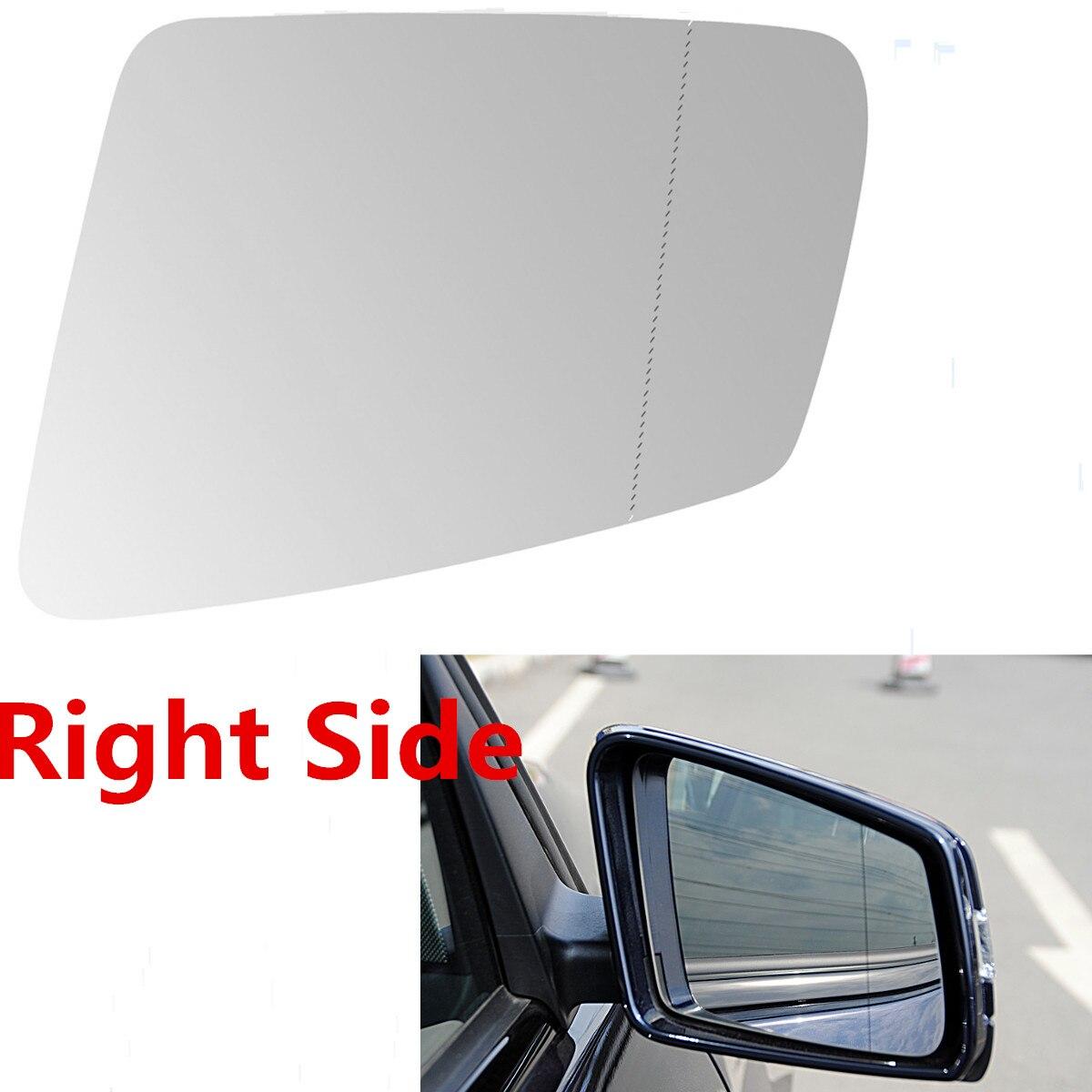 Right Side Mirror Glass Rear View W/Heated For Mercedes C180 C200 C300 E200 E300