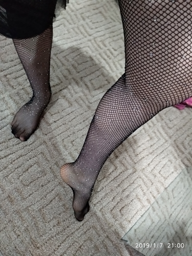 Sexy Women Open Crotch Crotchless Sheer Stockings Tights Big Hole Black Solid Fishnet White Diamond Stockings
