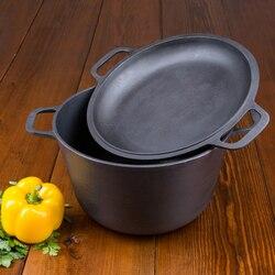 Braten pan cauldron gusseisen mit topf ducken hand grill kaffee topf bowler pan braten pan becher 0203