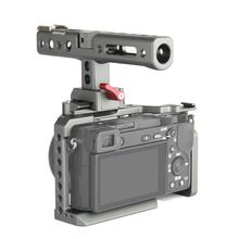 Fotopal WARAXE A6 Kit Camera Cage With NATO Rail Handle Grip For Sony