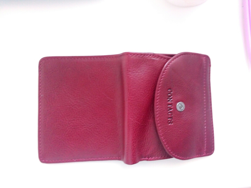 Contact's Genuine Leather Women Wallets Coin Purse Short Female Money Bag High Quality Mini Walet Small Card Holder For Girl photo review