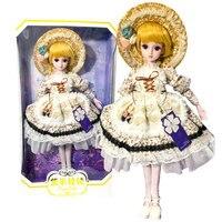 Бесплатная доставка DEME куклы 1/3 BJD SD обувь для девочек куклы 19 мяч игрушки на шарнирах со всеми наряды макияж детей Dressup DIY