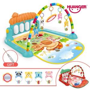 Image 1 - Dropship детский коврик, музыкальная активность, тренажерный зал, пазл, детский коврик, мягкий коврик, напольная игра, развивающие игрушки