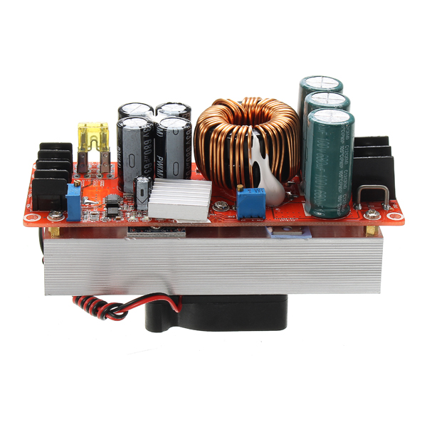 1PC 1500W 30A DC DC high current DC constant current power supply module of electric booster Module Board