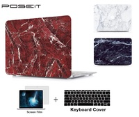 """keyboard plastic case Plastic marble Hard Case Cover Laptop Shell+Keyboard Cover+Screen Film For Apple Macbook Air Pro Retina Touch Bar 11 12 13 15"""" (2)"""
