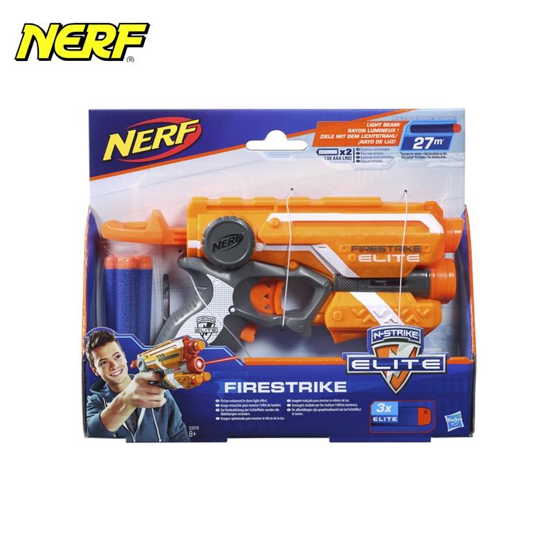 myT Toy Guns for boys Hasbro NERF Blaster Firestrike N-Strike Elite Series 53378 vest kit for nerf guns n strike series