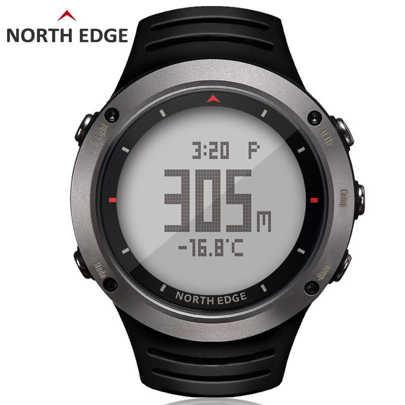 NORDEN RAND männer sport Digitale uhr Stunden Lauf Schwimmen sport uhren Höhenmesser Barometer Kompass Thermometer Wetter männer