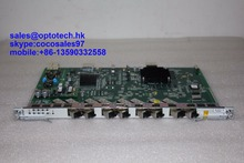 ZTE GPON OLT 8 ports GPON Sevice board GTGO with 8 SFP C+ modules