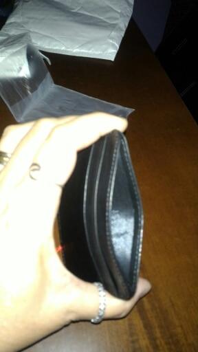 Super Slim Soft 100% Sheepskin Genuine Leather Card Holder Credit Card Holder Card Case Organizer Mini Men Wallets photo review