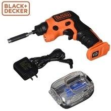 Отвертка аккумуляторная BLACK+DECKER BDCSFS30C-QW