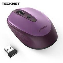 TeckNet беспроводная мышь с USB нано-приемником Omni Mini 2,4 ГГц мыши 18 месяцев срок службы батареи 3 регулируемые 2000/1500/1000 dpi