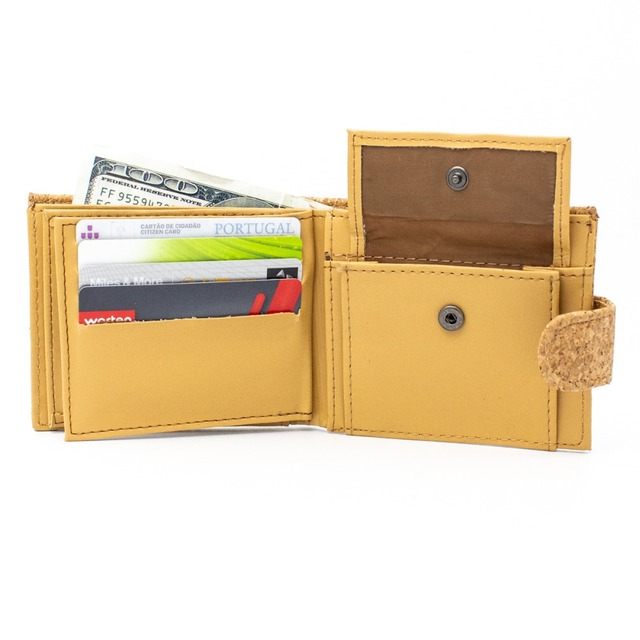Eco Couture Vegan Portuguese Cork Wallet