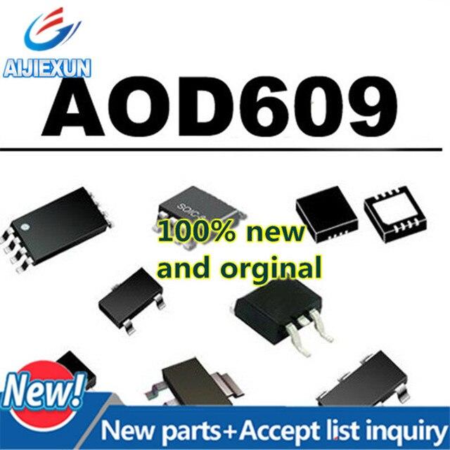 50 sztuk 100% nowy i oryginalny AOD609 D609 MOS uzupełniających się tryb poprawy tranzystor polowy w magazynie