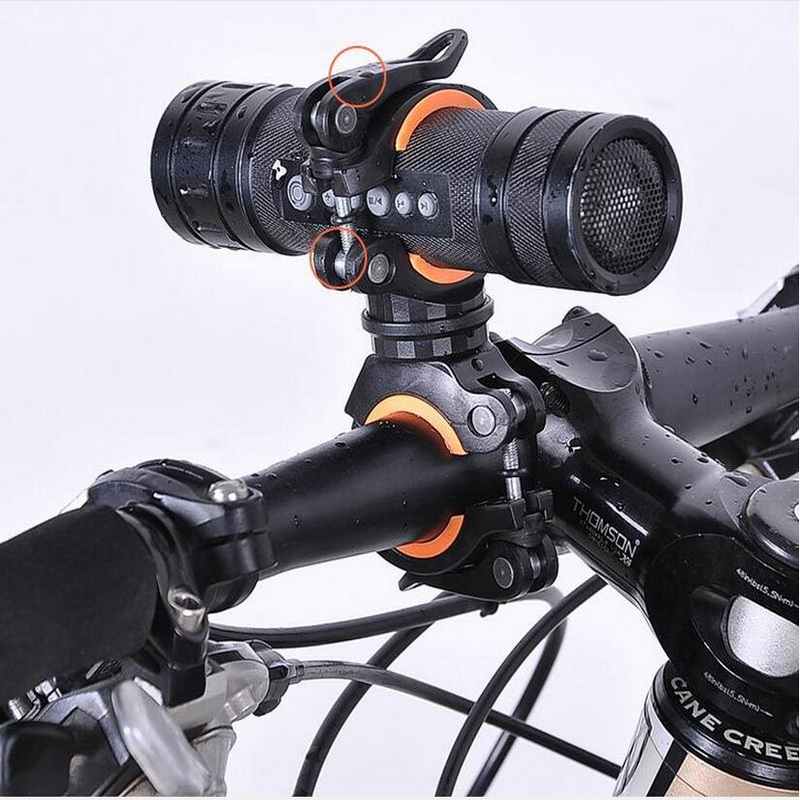 Mount Bike Cycling 360 Degree Rotatable Bicycle Clamp Flashlight LED Torch Light Holder Grip