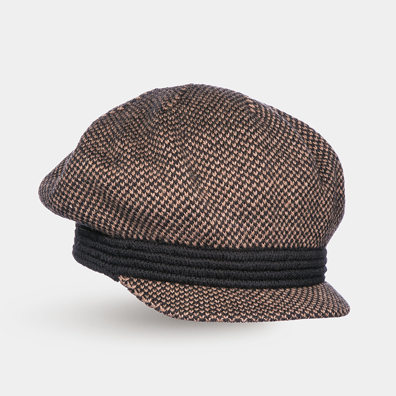 [Available from 10.11]Hat Newsboy hat Canoe3450759 summer chic letter applique embellished retro newsboy hat for women