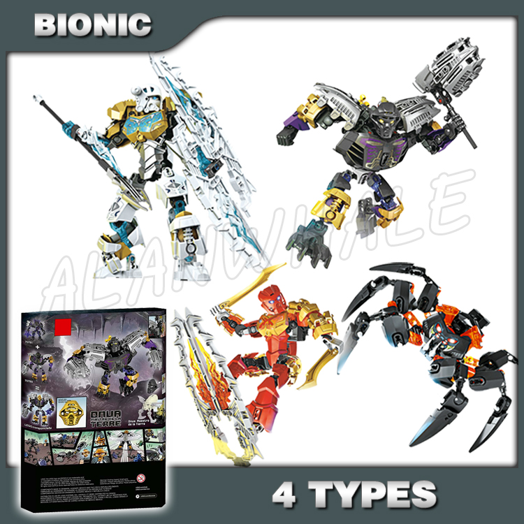 Master of ICE Power up Toy Block Set Toys Kid BIONICLE KOPAKA Protector Of Ice