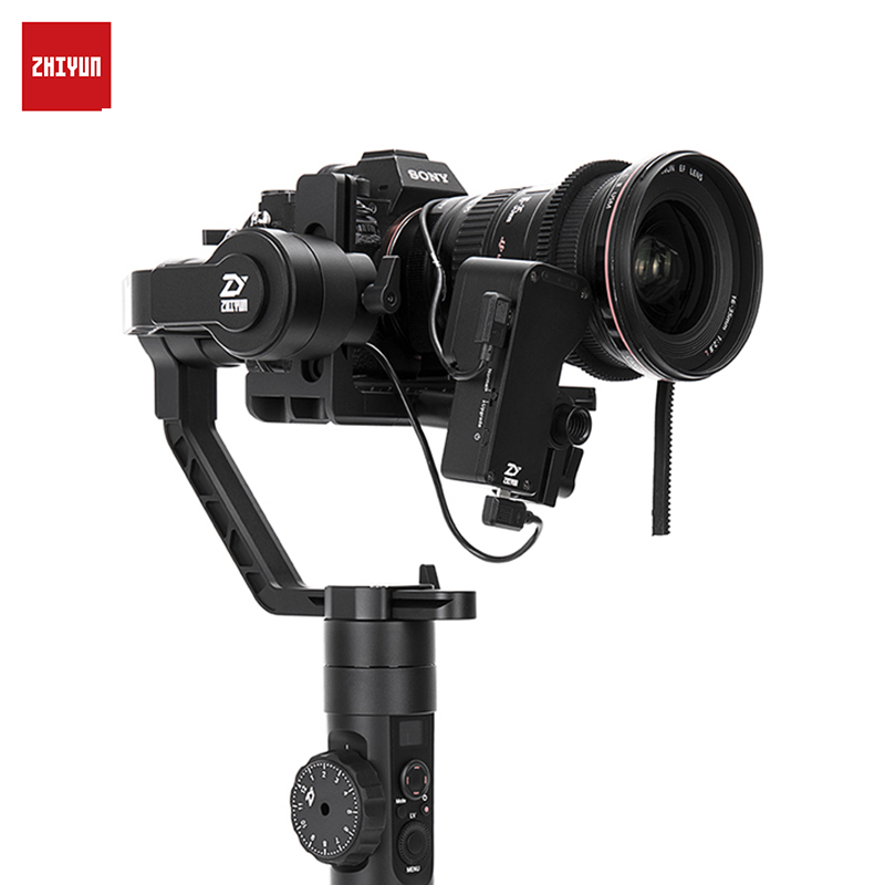 Handheld 3-Axis Stabilizer for DSLRs ZHIYUN Crane 2 Camera Stabilizer for All Models of DSLR Mirrorless Camera Canon 5D2/3/4 new qzsd q888 professional aluminum tripod monopod with ball head for dslr camera to camera camera stand better than q666
