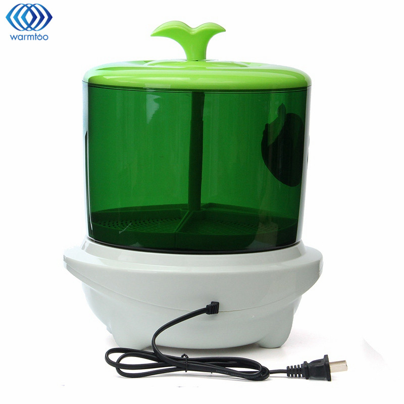 New Automatic Bean Sprouts Machine Multifunctional Homemade Sprout Double Layer 220V Microcomputer Control Bud Machine bean sprout machine germination intelligence home double layer nursery pots automatic bean sprouts machine kitchen electrical