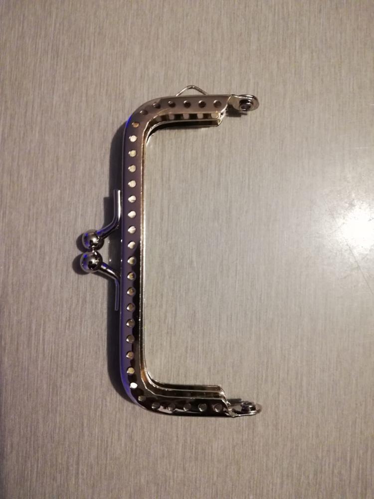 2019 Metalen Frame Kus Sluiting Arch 8.5cm Handvat voor Handtas Naaien Gaten Clutch Portemonnee Tas Accessoires Mode Nieuwe photo review