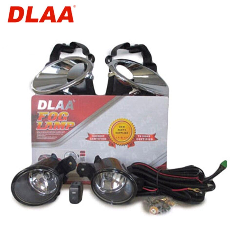Para Nissan Qashqai J10E 2011-2013 Fog light kit com fio e botão (DLAA NS560)