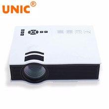 UNIC UC40 LED Proyector 800 Lúmenes 800×480 Píxeles USB/AV/SD/HDMI/IR Inicio teatro Proyector de Películas de Entretenimiento