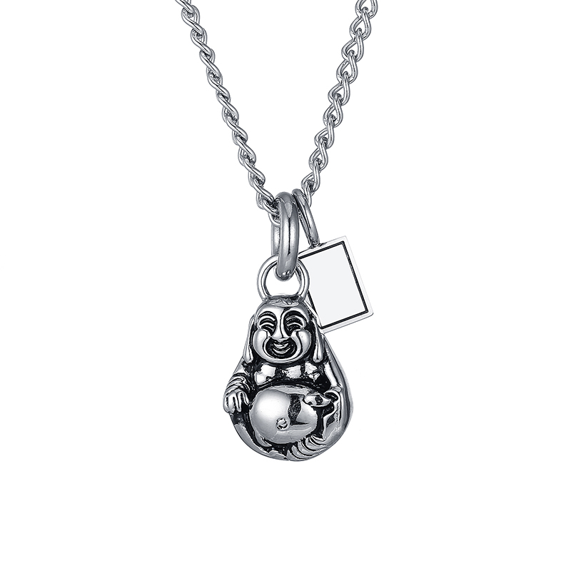 Good Quality Buddha Pendant With Necklace Vintage China Style Pendant Men Women Fashion Steel Pendants Jewelry BP001-tagGood Quality Buddha Pendant With Necklace Vintage China Style Pendant Men Women Fashion Steel Pendants Jewelry BP001-tag