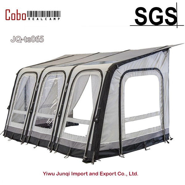 Air beam type Inflatable  waterproof anti-UV car Caravan trailer Porch Awning side airTent For family camping Trip