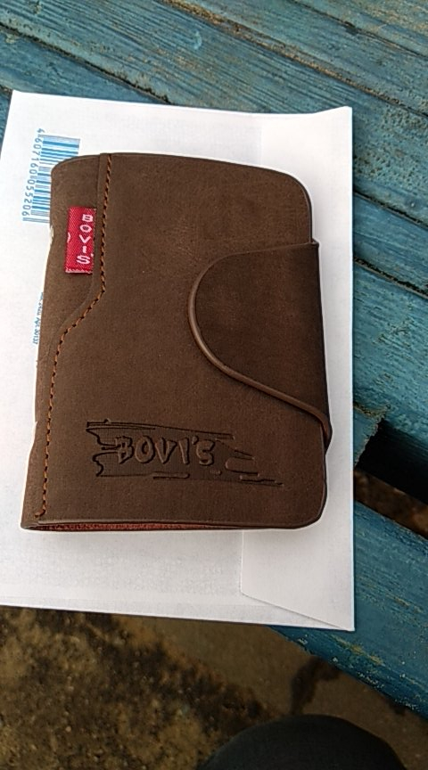 BOVIS Genuine Leather Business Card Holder Credit Card Cover Bags Travel Card Organizer Bags Porte Carte -- BIH003 PM20 photo review