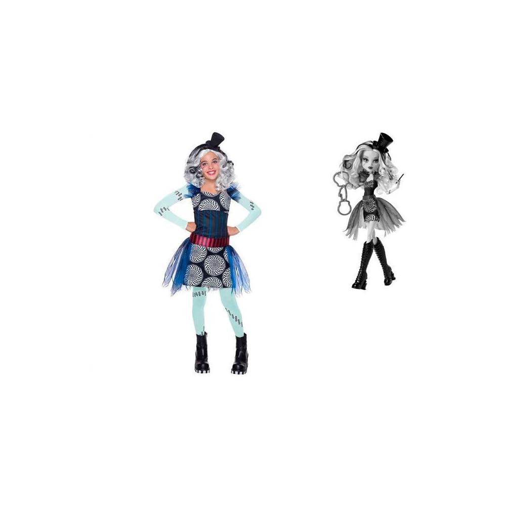 Carnival costume Rubie's Monster High Frankie Stein series Circus monster high freak du chic frankie stein doll