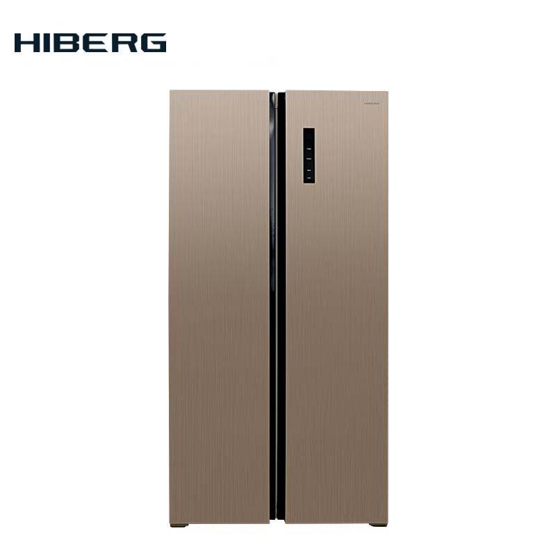 Refrigerator Side-by-Side  HIBERG RFS-480D NFH цена 2017