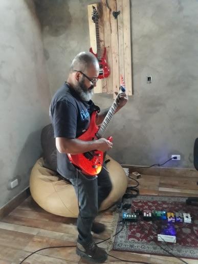 Peças e acessórios p/ guitarra Acessórios Caline Efeito