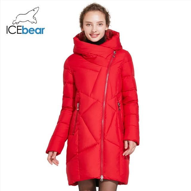 Куртка на косой молнии ICEbear 16G631D