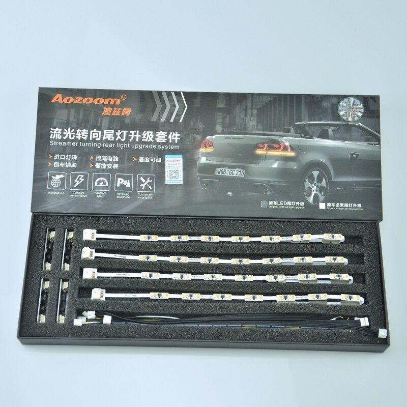 Aozoom высокое качество последние дизайн АЛД-01 светодиодные Стример поворота хвост света