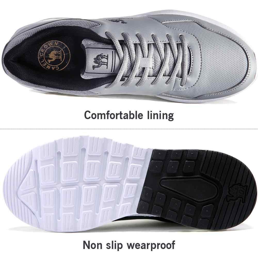 [Venta de camello de los hombres las mujeres ligero zapatos casuales al aire libre correr caminar zapatillas de deporte cojín de aire zapatos deportivos