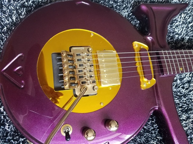 Directly Factory Prince Love Symbol Model Guitar In Stock Purple