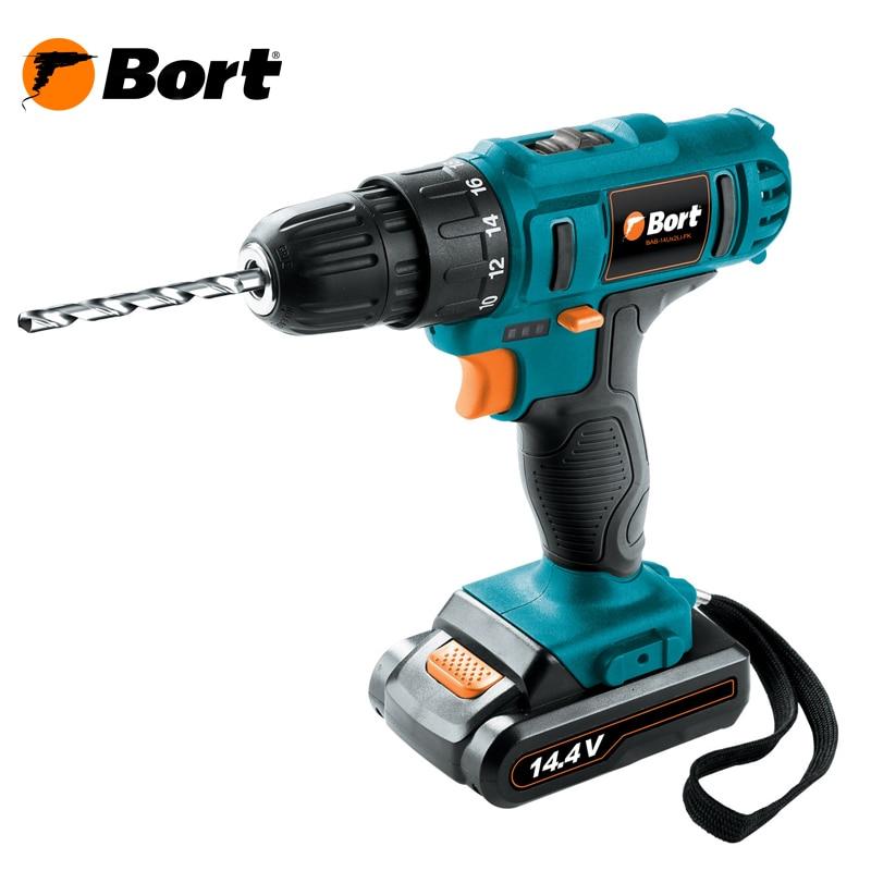 Drill battery BORT BAB-14Ux2Li-FK